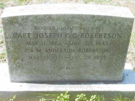ANDERSON ROBERTSON, IDA M. - Talbot County, Maryland | IDA M. ANDERSON ROBERTSON - Maryland Gravestone Photos