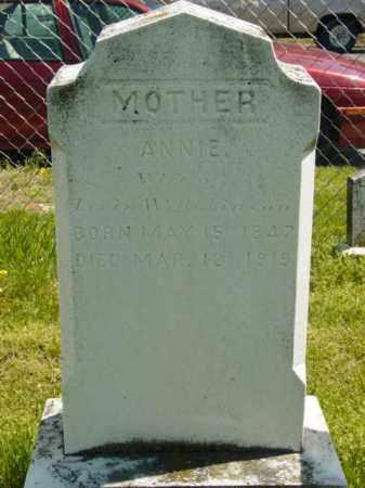 ROBINSON, ANNIE - Talbot County, Maryland   ANNIE ROBINSON - Maryland Gravestone Photos