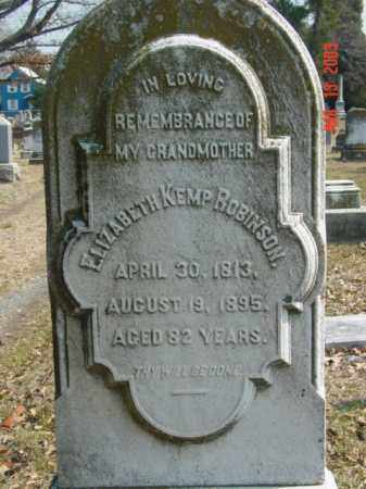 ROBINSON, ELIZABETH KEMP - Talbot County, Maryland | ELIZABETH KEMP ROBINSON - Maryland Gravestone Photos