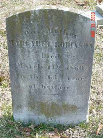 ROBINSON, MARGARET - Talbot County, Maryland | MARGARET ROBINSON - Maryland Gravestone Photos