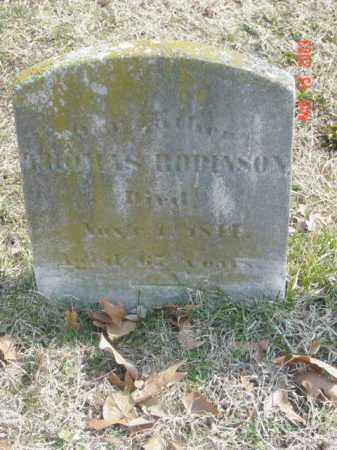 ROBINSON, THOMAS - Talbot County, Maryland   THOMAS ROBINSON - Maryland Gravestone Photos