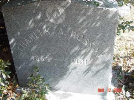 ROBSON, CHARLES A. - Talbot County, Maryland   CHARLES A. ROBSON - Maryland Gravestone Photos