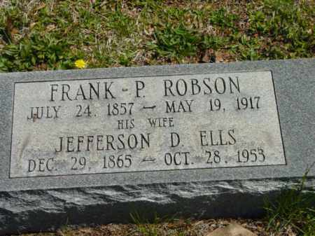 ROBSON, FRANK P. - Talbot County, Maryland   FRANK P. ROBSON - Maryland Gravestone Photos