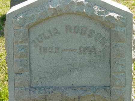 ROBSON, JULIA - Talbot County, Maryland   JULIA ROBSON - Maryland Gravestone Photos