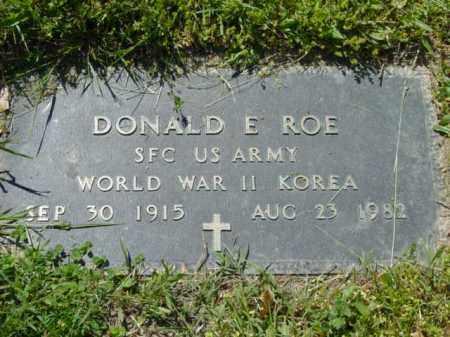 ROE, DONALD E. - Talbot County, Maryland   DONALD E. ROE - Maryland Gravestone Photos