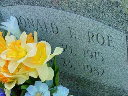 ROE, DONALD E. - Talbot County, Maryland | DONALD E. ROE - Maryland Gravestone Photos