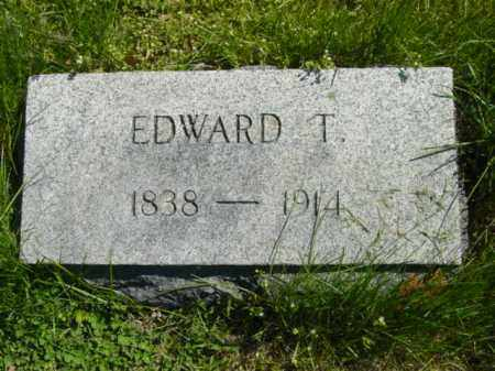 ROE, EDWARD T. - Talbot County, Maryland | EDWARD T. ROE - Maryland Gravestone Photos