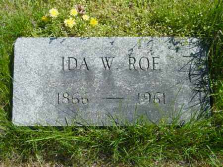 ROE, IDA W. - Talbot County, Maryland | IDA W. ROE - Maryland Gravestone Photos