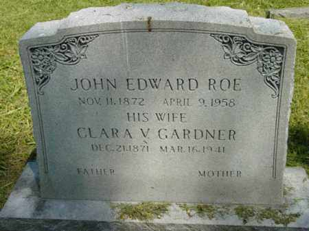 ROE, CLARA V. - Talbot County, Maryland | CLARA V. ROE - Maryland Gravestone Photos