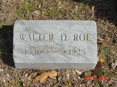 ROE, WALTER D. - Talbot County, Maryland | WALTER D. ROE - Maryland Gravestone Photos