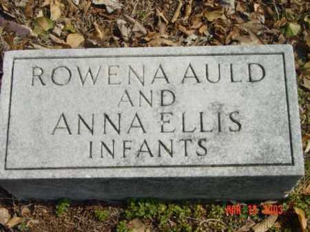 ROWENA, AULD - Talbot County, Maryland | AULD ROWENA - Maryland Gravestone Photos
