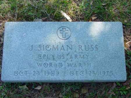 RUSS, J. SIGMAN - Talbot County, Maryland | J. SIGMAN RUSS - Maryland Gravestone Photos