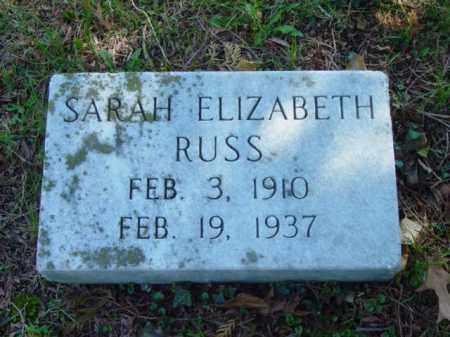 RUSS, SARAH ELIZABETH - Talbot County, Maryland   SARAH ELIZABETH RUSS - Maryland Gravestone Photos