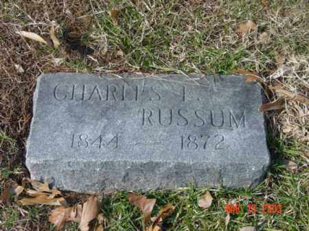 RUSSUM, CHARLES I. - Talbot County, Maryland | CHARLES I. RUSSUM - Maryland Gravestone Photos