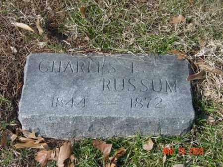 RUSSUM, CHARLES I. - Talbot County, Maryland   CHARLES I. RUSSUM - Maryland Gravestone Photos