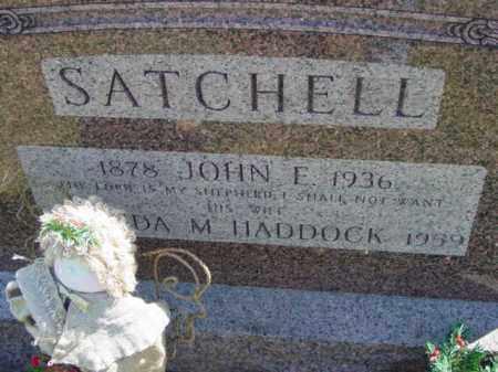 SATCHELL, JOHN E. - Talbot County, Maryland   JOHN E. SATCHELL - Maryland Gravestone Photos