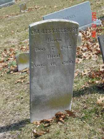SAULSBURY, CHARLES - Talbot County, Maryland | CHARLES SAULSBURY - Maryland Gravestone Photos