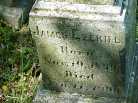 SAULSBURY, JAMES EZEKIEL - Talbot County, Maryland | JAMES EZEKIEL SAULSBURY - Maryland Gravestone Photos