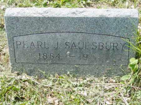 SAULSBURY, PEARL J. - Talbot County, Maryland | PEARL J. SAULSBURY - Maryland Gravestone Photos