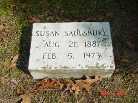 SAULSBURY, SUSAN - Talbot County, Maryland | SUSAN SAULSBURY - Maryland Gravestone Photos