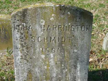 SCHMIDT, LOLA - Talbot County, Maryland | LOLA SCHMIDT - Maryland Gravestone Photos