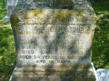 SCOTT, CATHERINE HEATHER - Talbot County, Maryland   CATHERINE HEATHER SCOTT - Maryland Gravestone Photos