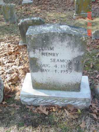 SEAMON JR., WILLIAM HENRY - Talbot County, Maryland   WILLIAM HENRY SEAMON JR. - Maryland Gravestone Photos