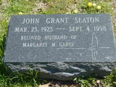 SEATON, JOHN GRANT - Talbot County, Maryland | JOHN GRANT SEATON - Maryland Gravestone Photos