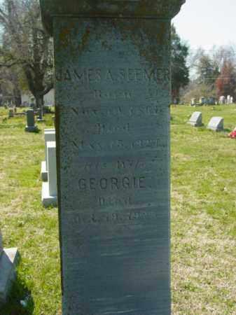SEEMER, JAMES A. - Talbot County, Maryland | JAMES A. SEEMER - Maryland Gravestone Photos