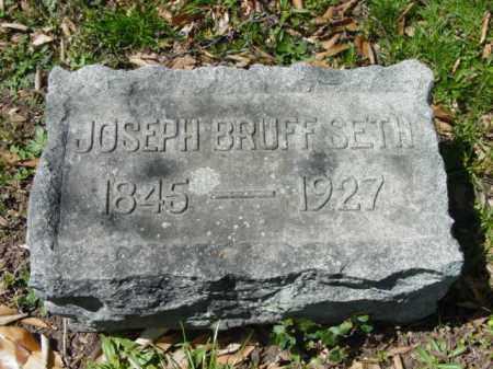 SETH, JOSEPH BRUFF - Talbot County, Maryland   JOSEPH BRUFF SETH - Maryland Gravestone Photos