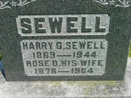 SEWELL, HARRY G. - Talbot County, Maryland | HARRY G. SEWELL - Maryland Gravestone Photos