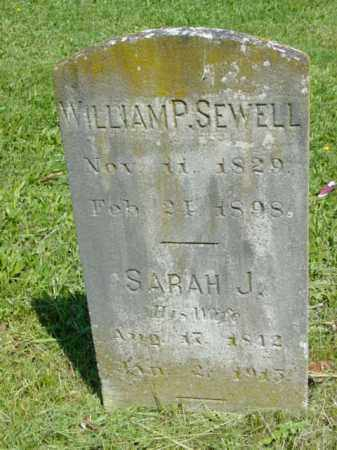 SEWELL, WILLIAM P. - Talbot County, Maryland   WILLIAM P. SEWELL - Maryland Gravestone Photos