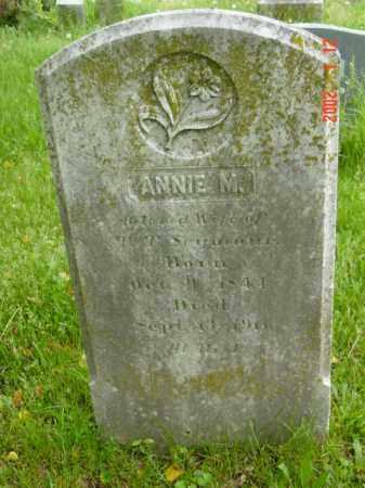 SEYMOUR, ANNIE M. - Talbot County, Maryland | ANNIE M. SEYMOUR - Maryland Gravestone Photos