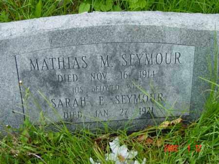 SEYMOUR, SARAH E. - Talbot County, Maryland   SARAH E. SEYMOUR - Maryland Gravestone Photos