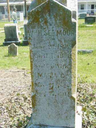 SEYMOUR, WILLIAM H. - Talbot County, Maryland   WILLIAM H. SEYMOUR - Maryland Gravestone Photos