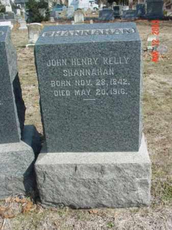 SHANNAHAN, JOHN HENRY KELLY - Talbot County, Maryland | JOHN HENRY KELLY SHANNAHAN - Maryland Gravestone Photos
