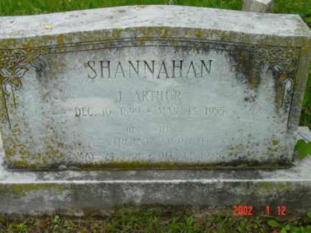 SHANNAHAN, A. VIRGINIA - Talbot County, Maryland | A. VIRGINIA SHANNAHAN - Maryland Gravestone Photos
