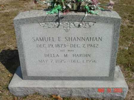 SHANNAHAN, SAMUEL E. - Talbot County, Maryland | SAMUEL E. SHANNAHAN - Maryland Gravestone Photos