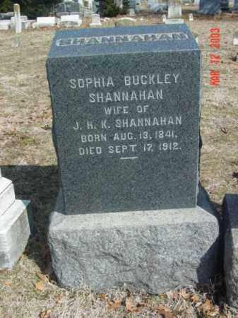 SHANNAHAN, SOPHIA - Talbot County, Maryland | SOPHIA SHANNAHAN - Maryland Gravestone Photos