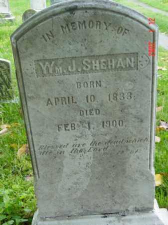 SHEHAN, WILLIAM J. - Talbot County, Maryland   WILLIAM J. SHEHAN - Maryland Gravestone Photos