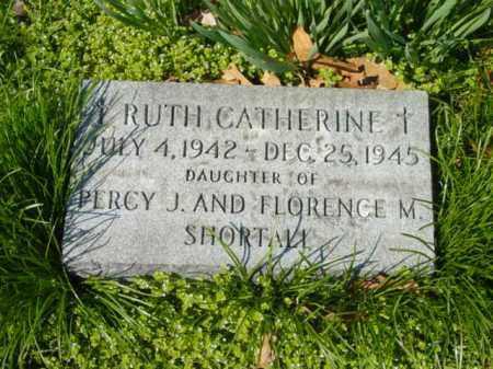 SHORTALL, RUTH CATHERINE - Talbot County, Maryland   RUTH CATHERINE SHORTALL - Maryland Gravestone Photos