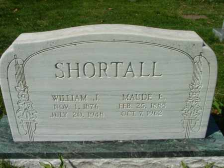 SHORTALL, WILLIAM J. - Talbot County, Maryland | WILLIAM J. SHORTALL - Maryland Gravestone Photos
