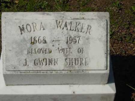 SHURE, NORA - Talbot County, Maryland   NORA SHURE - Maryland Gravestone Photos