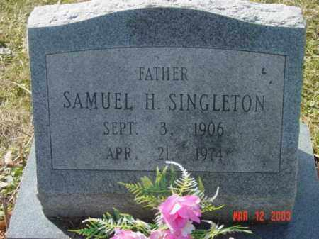 SINGLETON, SAMULE H. - Talbot County, Maryland | SAMULE H. SINGLETON - Maryland Gravestone Photos