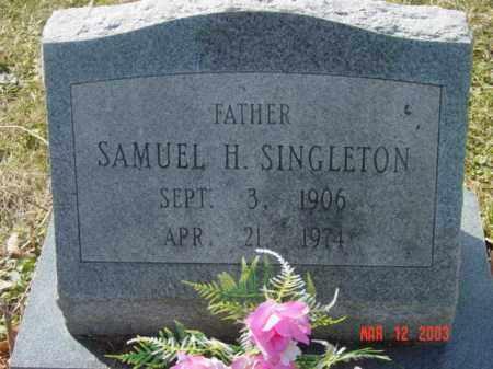 SINGLETON, SAMULE H. - Talbot County, Maryland | SAMULE H. SINGLETON - Maryland Gravestone Photos