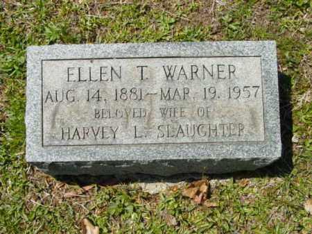 SLAUGHTER, ELLEN T. - Talbot County, Maryland | ELLEN T. SLAUGHTER - Maryland Gravestone Photos