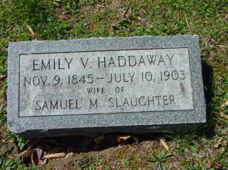 SLAUGHTER, EMILY V. - Talbot County, Maryland | EMILY V. SLAUGHTER - Maryland Gravestone Photos