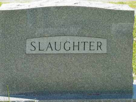 SLAUGHTER, MONUMENT - Talbot County, Maryland | MONUMENT SLAUGHTER - Maryland Gravestone Photos
