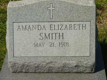 SMITH, AMANDA ELIZABETH - Talbot County, Maryland   AMANDA ELIZABETH SMITH - Maryland Gravestone Photos