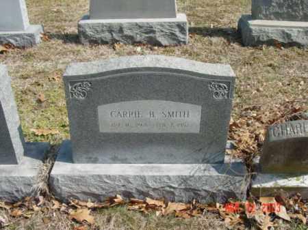 SMITH, CARRIE B. - Talbot County, Maryland | CARRIE B. SMITH - Maryland Gravestone Photos